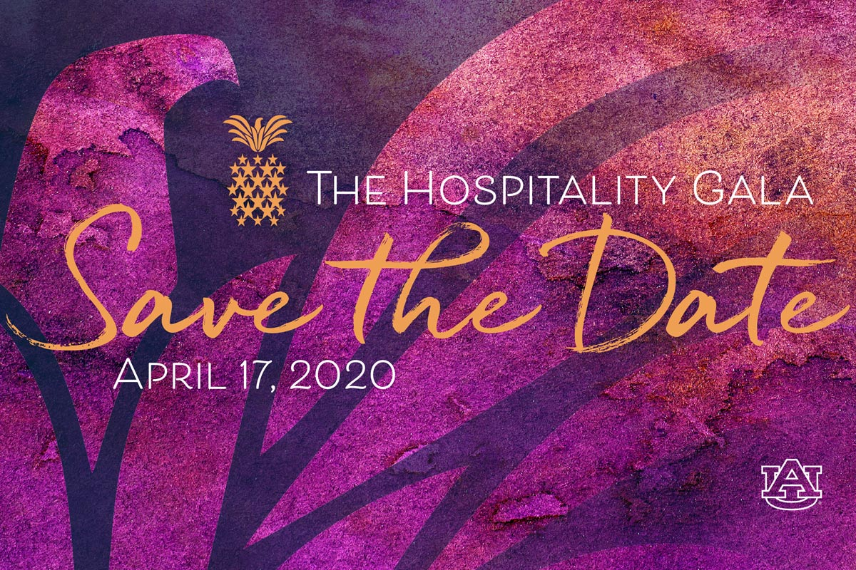 The Hospitality Gala Save The Date Graphic